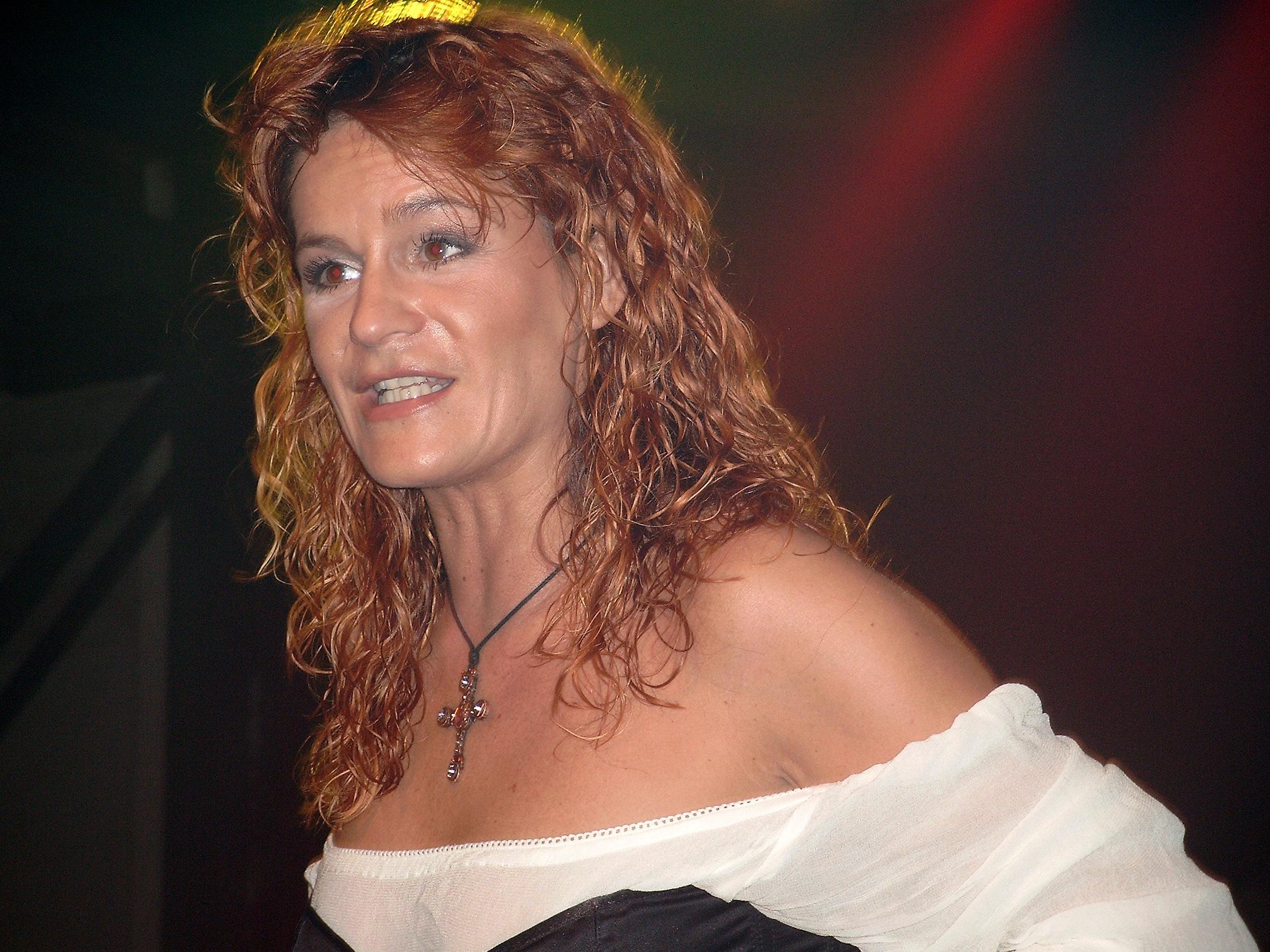 Schlagerparty mit Andrea Berg Neumünster 25.10.2003